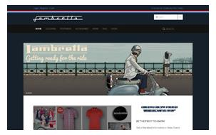 online store of Lambretta Clothing